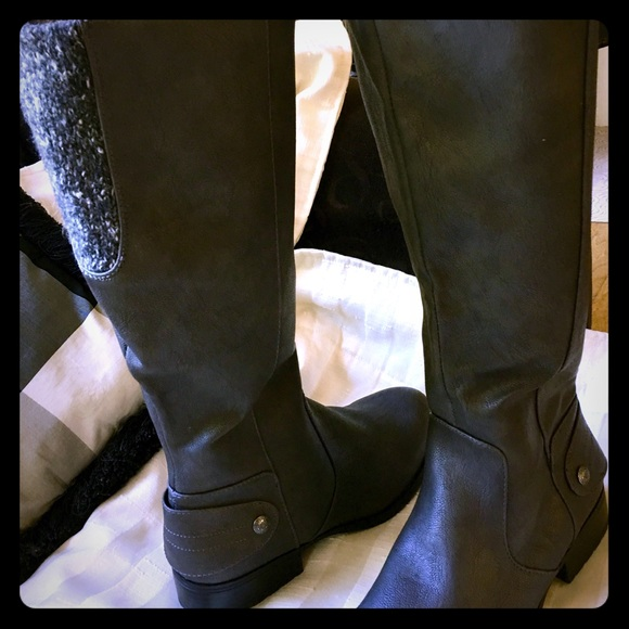 Lifestride X-Amy Tall Wide Shaft Boots Clothing Shoes /& Jewelry Shoes  SZ